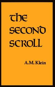 The second scroll by A. M. Klein