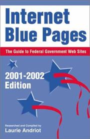 Internet blue pages by Laurie Andriot