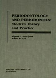 Periodontology and periodontics by Sigurd Peder Ramfjord
