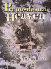 Prepositional heaven by Thomas Rabbitt