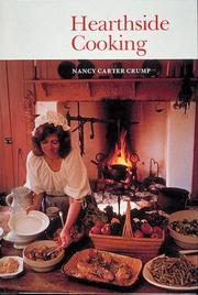 Hearthside cooking by Nancy Carter Crump