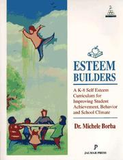 Esteem Builders by Michele Borba