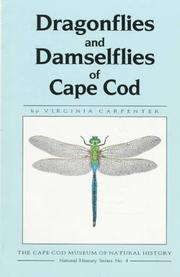 Dragonflies & damselflies of Cape Cod by Virginia Carpenter