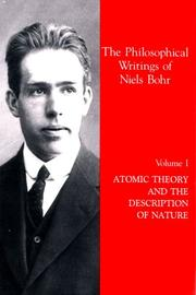 Atomic theory and the description of nature PDF