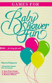 Games for Baby Shower Fun PDF
