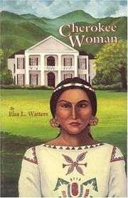 Cherokee woman by Elsa L. Watters