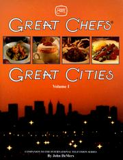 Great chefs--great cities PDF