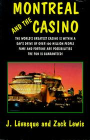 Montreal and the casino PDF