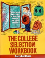 The College Selection Workbook PDF