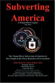 Subverting America - A Trojan Horse Legacy (Vol. 2) PDF