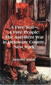 A free soil--a free people by Dorothy Kubik