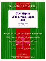 The Non Lawyers A   B Trust Kit PDF
