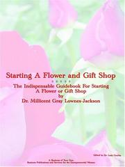 Starting A Flower And Gift Shop PDF