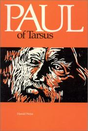 Paul of Tarsus by Herold Weiss