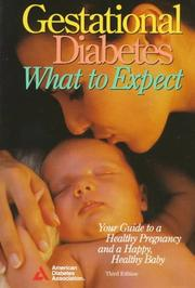Cover of: Gestational Diabetes by American Diabetes Association.
