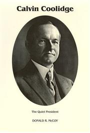 Calvin Coolidge by Donald R. McCoy