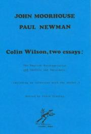 Colin Wilson, Two Essays by John Moorhouse