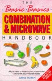 The Basic Basics Combination and Microwave Handbook (Basic Basics) PDF