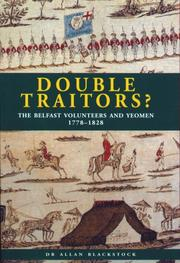 Double traitors? by Allan Blackstock