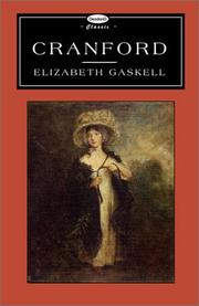 Cover of: Cranford (Deodand Classics) by Elizabeth Cleghorn Gaskell