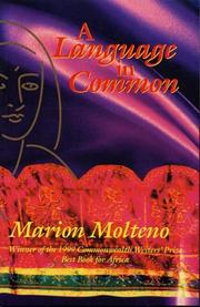 A language in common by Marion Molteno