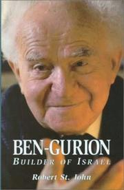 Ben-Gurion by St. John, Robert