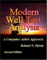 Modern Well Test Analysis by Roland N. Horne