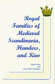 Royal families of medieval Scandinavia, Flanders, and Kiev PDF