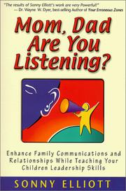 Mom, dad are you listening? PDF