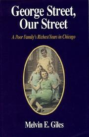 George Street, our street by Melvin E. Giles