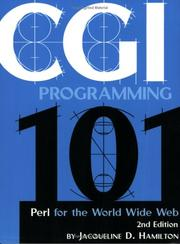 CGI programming 101 by Jacqueline D. Hamilton