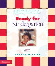 Ready for kindergarten by Sharon Wilkins