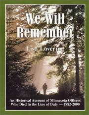 We Will Remember (Minnesota) PDF