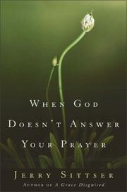 When God Doesn't Answer Your Prayer PDF