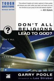 Don't All Religions Lead to God? (Tough Questions) PDF