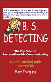 B.S. Detecting; the Flip Side of Success-Possible Communicating PDF