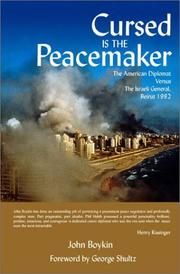 Cursed is the peacemaker by John Boykin