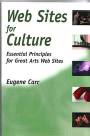 Cover of: Web Sites for Culture by Eugene Carr