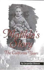 Matilda's Story PDF