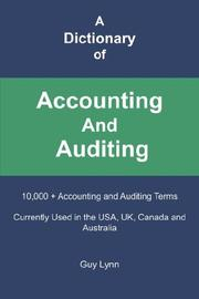A dictionary of accounting and auditing