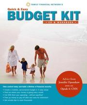 Quick & Easy Budget Kit - 4 Steps to Manage Spending, Save Money, and Build Financial Security (CD & Workbook) PDF
