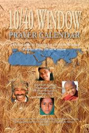 10/40 Window Prayer Calendar PDF
