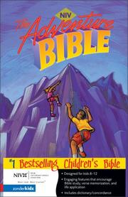 Adventure Bible, Revised, NIV by Mr. Lawrence O. Richards