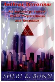 Anthrax Terrorism by Sheri K. Bunn