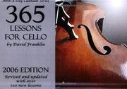 2006 Note-a-Day Calendar for Cello