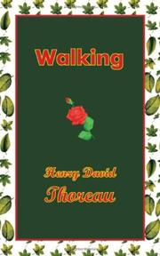Cover of: Walking by Henry David Thoreau
