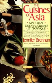 The Cuisines of Asia by Jennifer Brennan