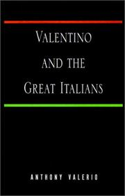 Valentino and the great Italians PDF