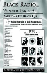 Black radio-- by Marsha Washington George
