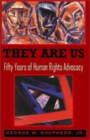 They are us by George W. Shepherd